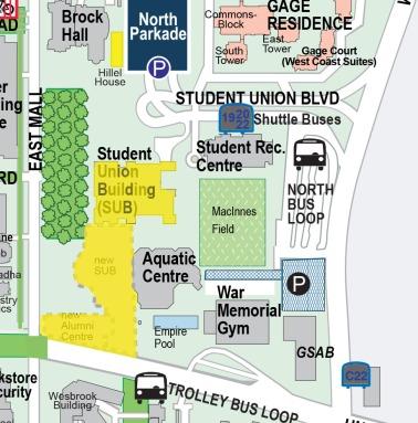 Wayfinding website updated map April 2012